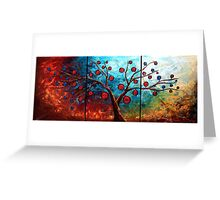 The Red & Blue Fruit Greeting Card