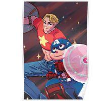 Steve and the Steven Poster