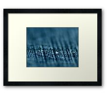 A Drop of Materialism Framed Print