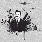 mustache   man by halina1601
