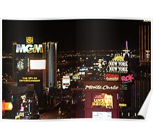Las Vegas...The Strip... Poster