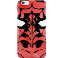 Rorschach Spiderman iPhone Case/Skin