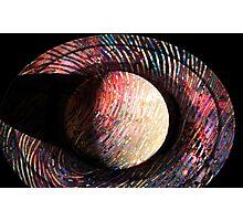 Saturn Fingerprint Photographic Print