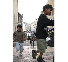 kids at play Photographic Print