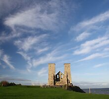 Reculver - Edge Of The World by Dave Godden