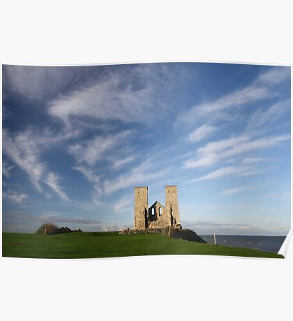 Reculver - Edge Of The World Poster