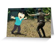 Jurassic World Randy Greeting Card