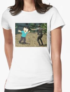 Jurassic World Randy Womens Fitted T-Shirt
