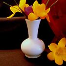 Bright Yellow in Vase   ^ by ctheworld