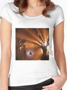 ~ Lux Aurumque ~ Women's Fitted Scoop T-Shirt