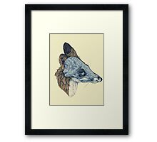 Laminate Pet Animal, Snowmine Framed Print