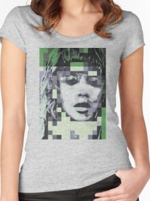 piXel.PΛul∀ Women's Fitted Scoop T-Shirt