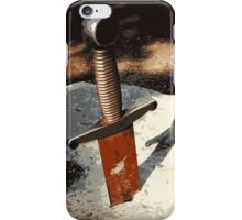 Sword...in...the...Stone!!!! iPhone Case/Skin