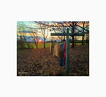 Country Clothesline At Sunset Unisex T-Shirt