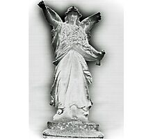 Statues in cemeteries Photographic Print