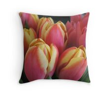 Welcome to the Flower Rock Cafe Throw Pillow