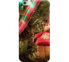 Christmas Bear Ornament iPhone Case/Skin