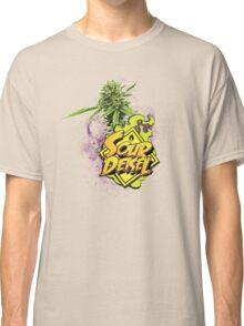 Sour Deisel Marijuana Strain Art Classic T-Shirt