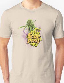 Sour Deisel Marijuana Strain Art Unisex T-Shirt