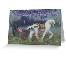 Baby Shower Invitation Card African American Fairy Greeting Card