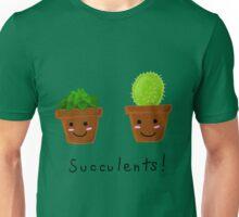 Succulents! Unisex T-Shirt