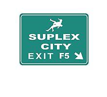 Suplex City Exit Photographic Print