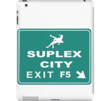 Suplex City Exit iPad Case/Skin