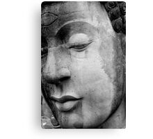Face of Buda - Disney Land, Hong Kong, 2009 Canvas Print