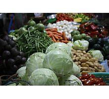 Market Fresh Photographic Print