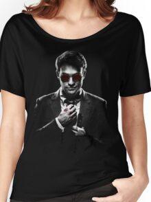 Sin City Matt Murdock [Transparent] Women's Relaxed Fit T-Shirt