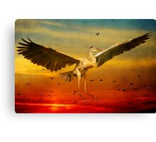The arrival and the reuinion Canvas Print
