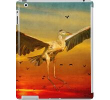The arrival and the reuinion iPad Case/Skin