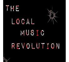 The Local Music Revolution Original Logo Photographic Print