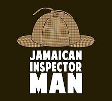 Jamaican Inspector Man (Dark Background) by Starfall Industries