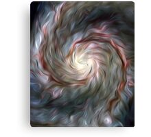 Nebula Brush Strokes Canvas Print