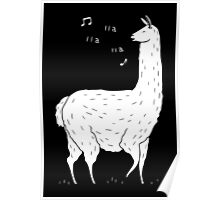 Song Of The Llama Poster