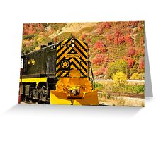 Heber Valley Railroad  Greeting Card
