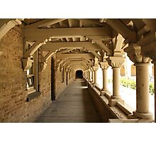 Gothic Tunnel Photographic Print