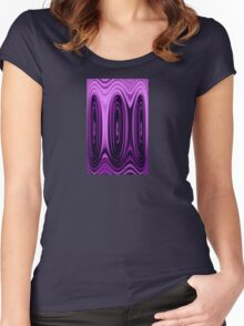 Purples Prickle Women's Fitted Scoop T-Shirt