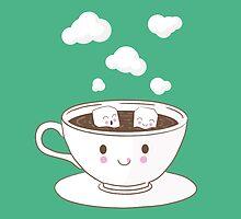Cute Hot Chocolate by KingdomofArt