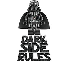Dark side  Photographic Print