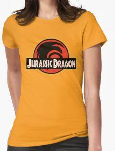 Jurassic Dragon Womens Fitted T-Shirt