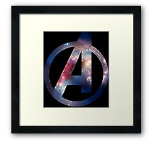 Avenger Space Framed Print