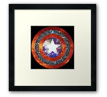 America Space Framed Print