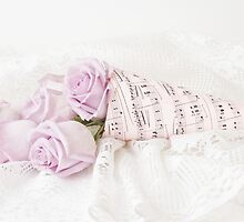 Lavender Roses And Music by Sandra Foster