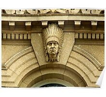 Bowker Building Indian Chief Poster