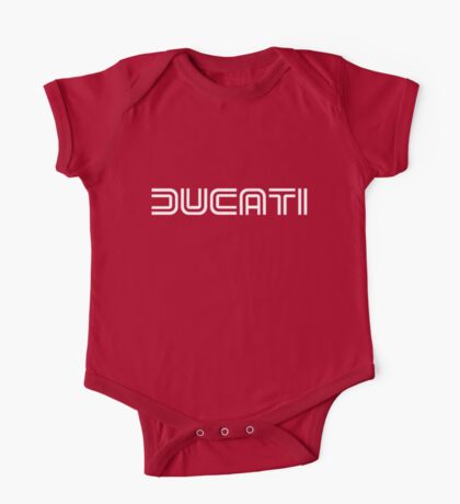 Retro Ducati Shirt One Piece - Short Sleeve