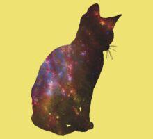 Kitten Space Baby Tee