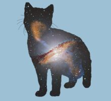 Cat Space Kids Tee