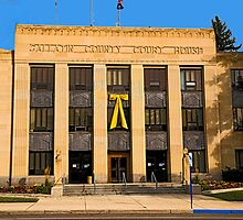 Gallatin County (Montana) Court House by Bryan D. Spellman